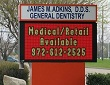 LED Electronic Message Center Sign