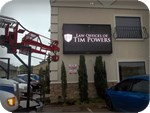 Full Color LED Sign for Tim Power Law Offices